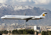 EP-CPV - Caspian Airlines McDonnell Douglas MD-83 aircraft