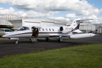 ZK-XVL - Private Learjet 35