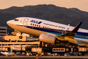 JA03AN - ANA - All Nippon Airways Boeing 737-700 aircraft