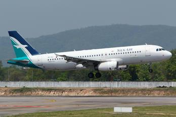 9V-SLI - SilkAir Airbus A320