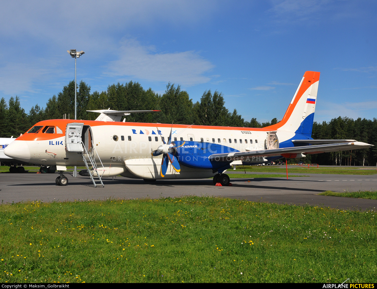 RADAR 91003 aircraft at St.Petersburg - Levashovo