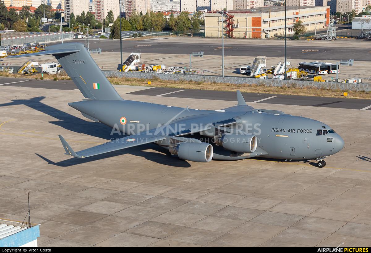 India - Air Force CB-8006 aircraft at Lisbon
