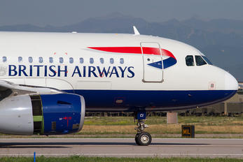 G-DBCI - British Airways Airbus A319