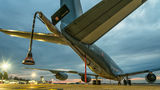 France - Air Force Boeing C-135FR Stratotanker 93-CB at Zagreb airport