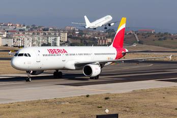 EC-JLI - Iberia Airbus A321