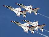 92-3880 - USA - Air Force : Thunderbirds General Dynamics F-16C Fighting Falcon aircraft