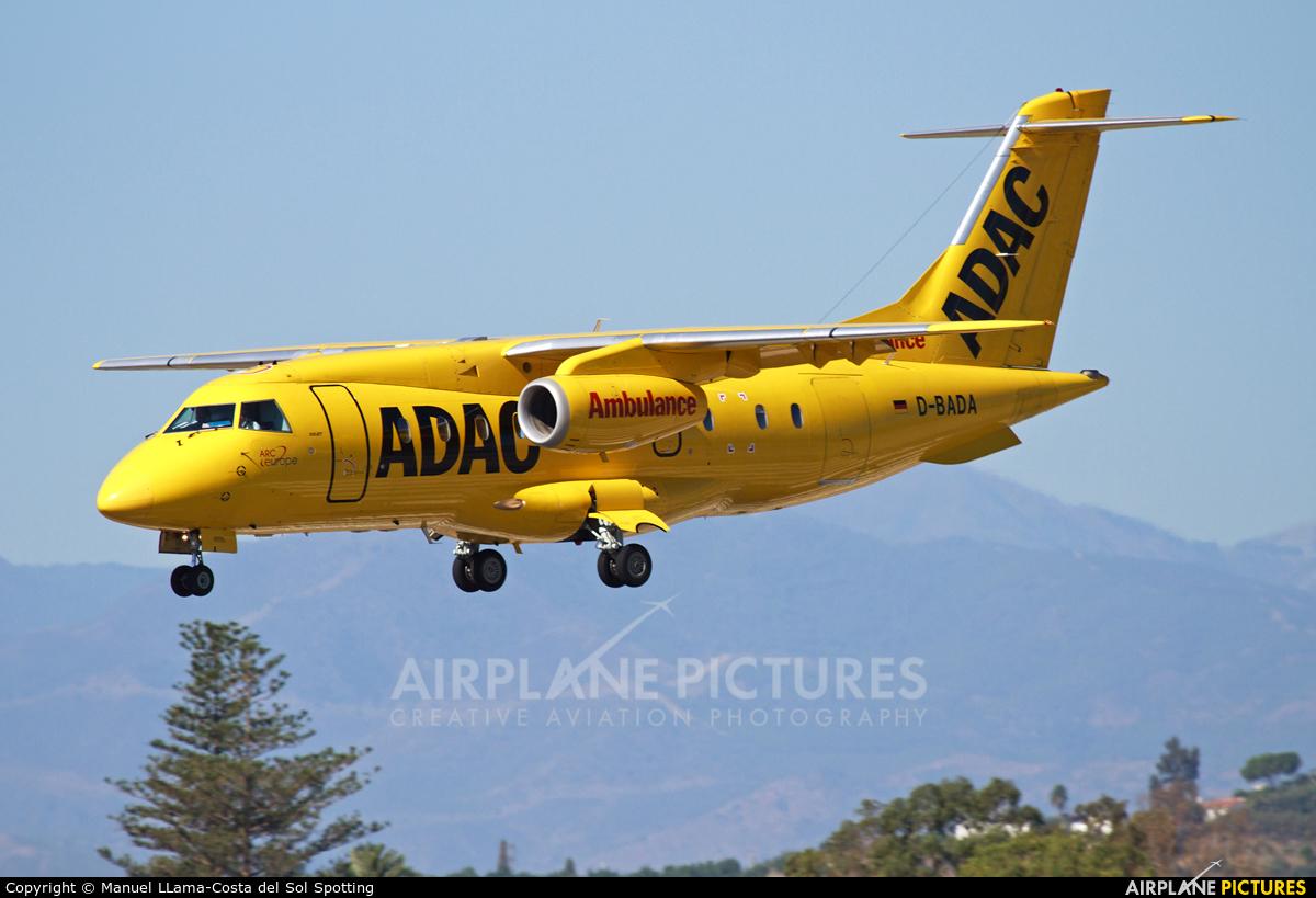 ADAC Luftrettung D-BADA aircraft at Málaga
