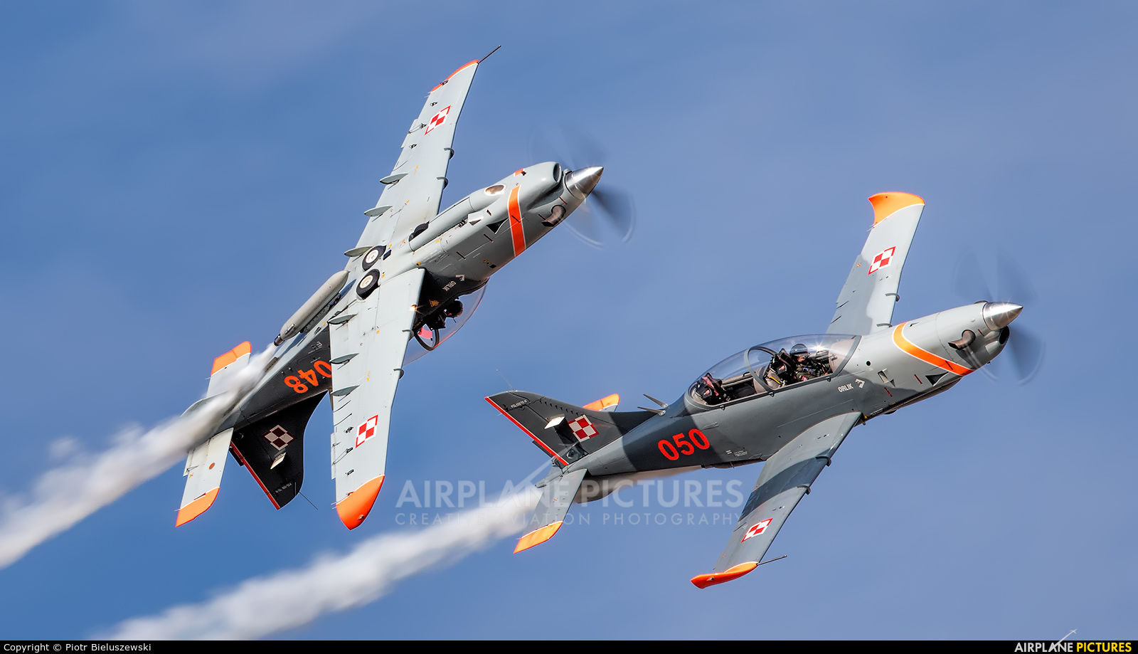 "Poland - Air Force ""Orlik Acrobatic Group"" 050 aircraft at Ostrava Mošnov"