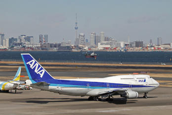 JA8960 - ANA - All Nippon Airways Boeing 747-400D