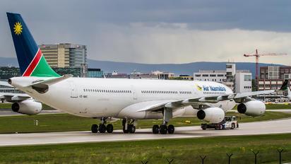 V5-NME - Air Namibia Airbus A340-300