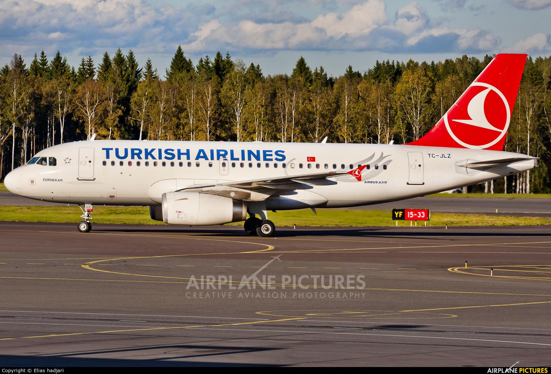 Turkish Airlines TC-JLZ aircraft at Helsinki - Vantaa