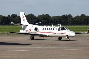 84-007 - Turkey - Air Force Cessna 550 Citation II