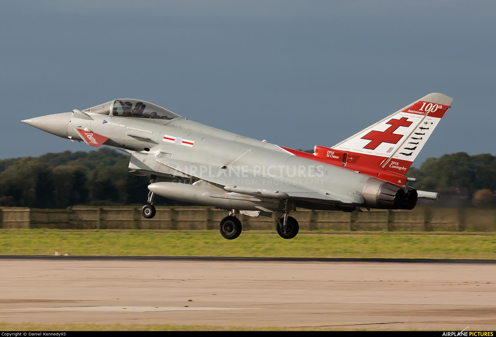 Royal Air Force ZK315 aircraft at Coningsby