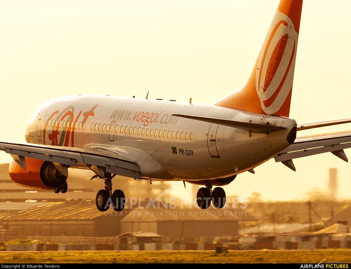 GOL Transportes Aéreos  PR-GOY aircraft at Porto Alegre - Salgado Filho