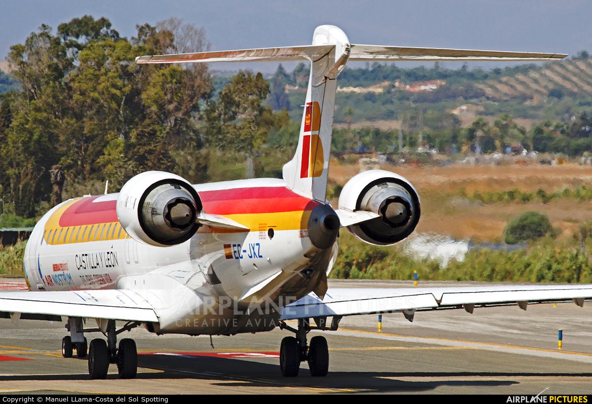 Air Nostrum - Iberia Regional EC-JXZ aircraft at Málaga
