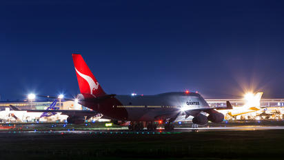 VH-OJI - QANTAS Boeing 747-400