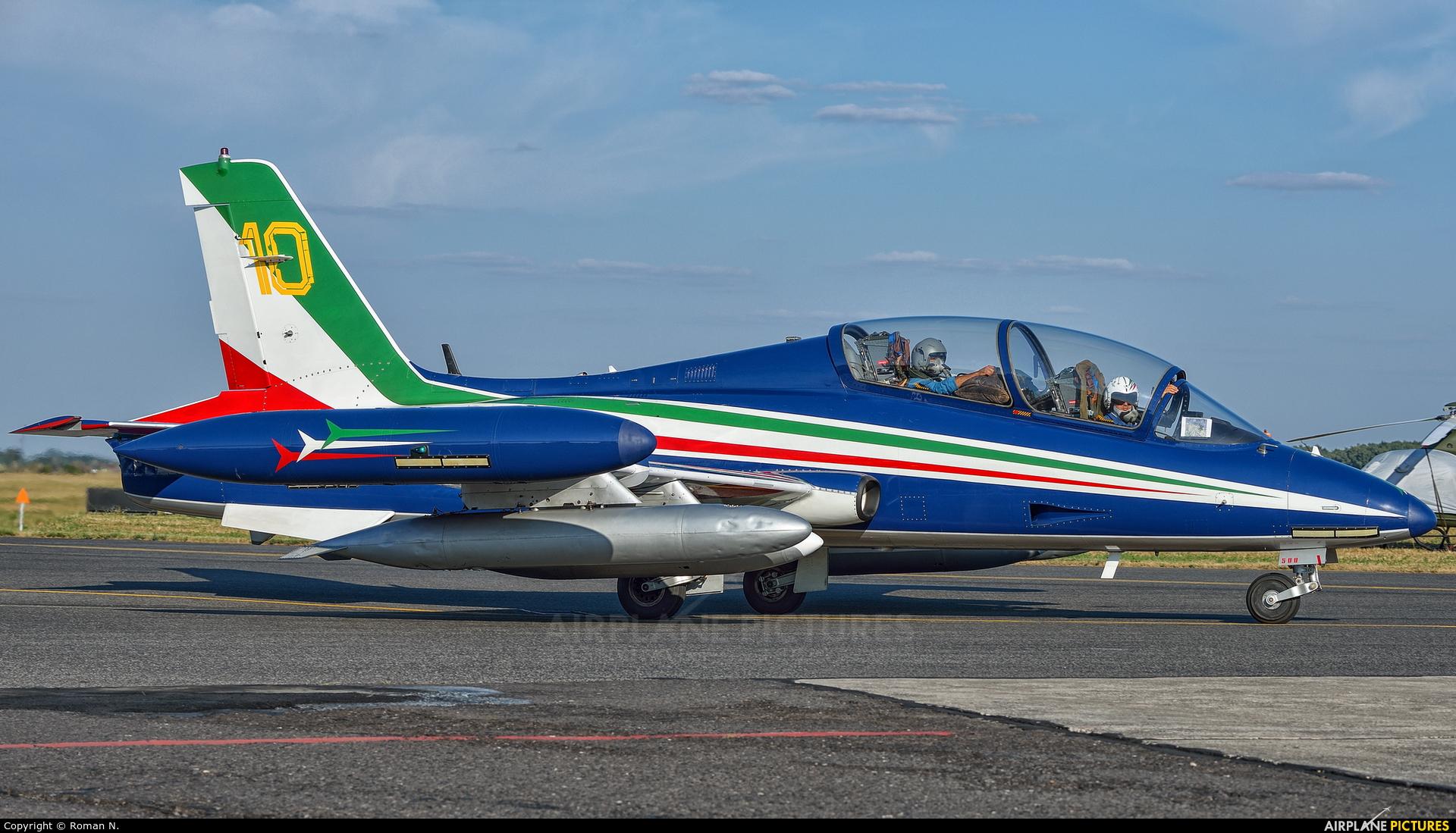 "Italy - Air Force ""Frecce Tricolori"" MM54500 aircraft at Radom - Sadków"