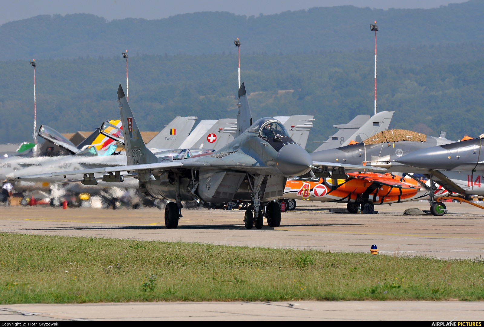 Slovakia -  Air Force 6627 aircraft at Sliač