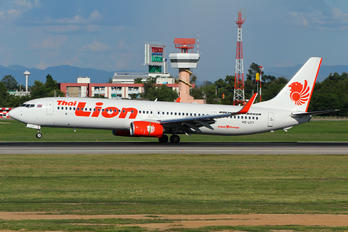 HS-LTT - Thai Lion Air Boeing 737-900ER