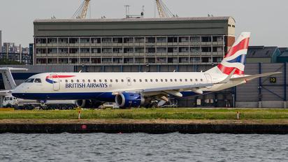G-LCYJ - British Airways - City Flyer Embraer ERJ-190 (190-100)