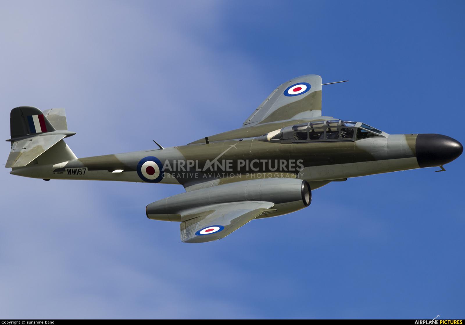Classic Air Force G-LOSM aircraft at Church Fenton