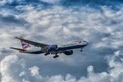 G-VIIX - British Airways Boeing 777-200 aircraft
