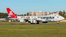 Delivery flight of new Cargolux B747-8F title=