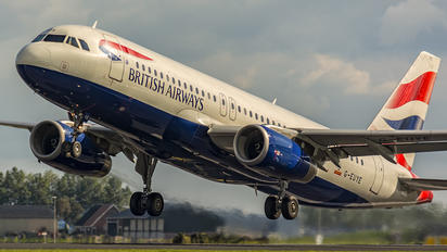 G-EUYE - British Airways Airbus A320