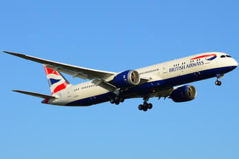 G-ZBKA - British Airways Boeing 787-9 Dreamliner