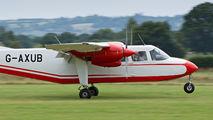 G-AXUB - Private Britten-Norman BN-2 Islander aircraft