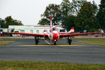 (1) - Poland - Air Force: White & Red Iskras PZL TS-11 Iskra