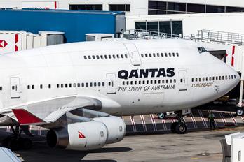 VH-OJA - QANTAS Boeing 747-400