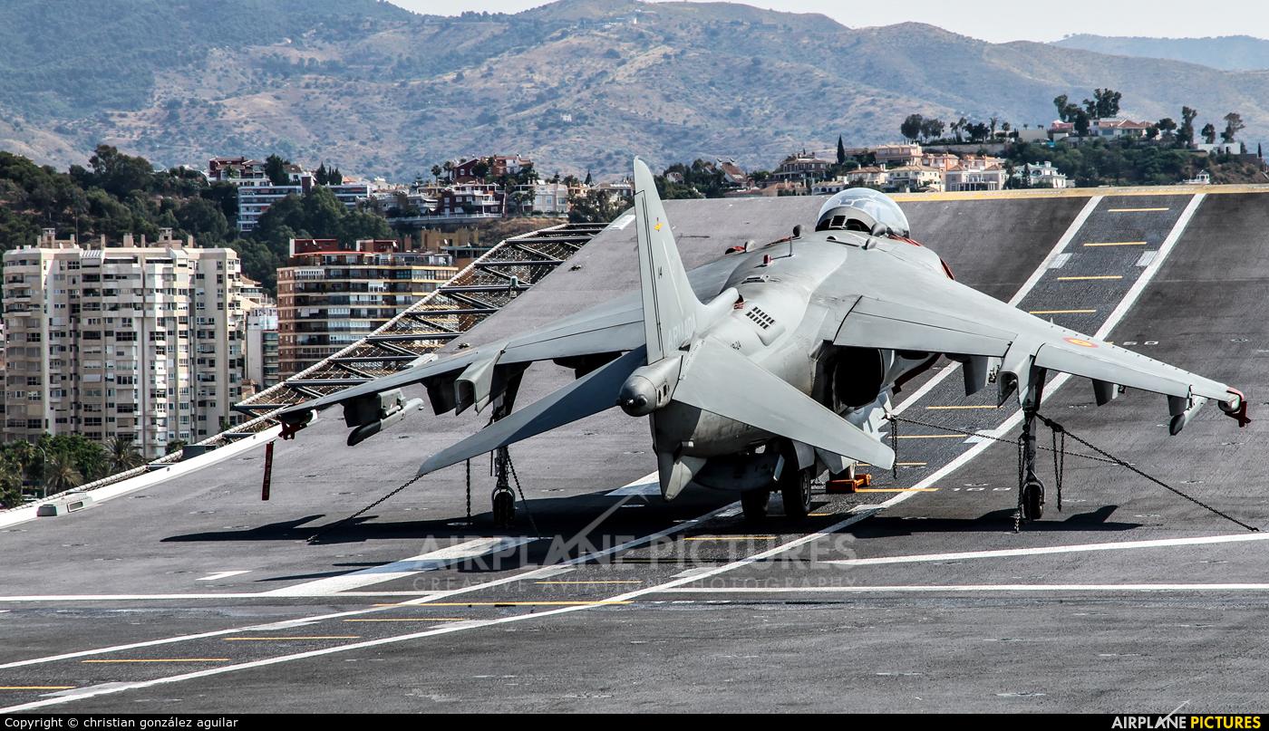 Spain - Navy VA.1B-27 aircraft at LHD Juan Carlos I. L-61