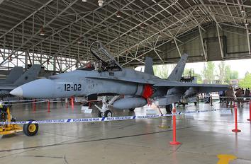 C.15-44 - Spain - Air Force McDonnell Douglas EF-18A Hornet
