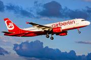 D-ABNH - Air Berlin Airbus A320 aircraft