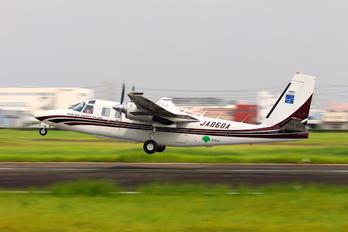 JA860A - Asia Air Survey Co.Ltd Gulfstream Aerospace Commander 695