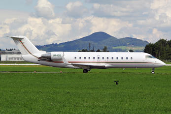 UR-ICD - ISD Avia Canadair CL-600 Challenger 850