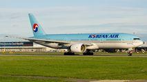 HL7751 - Korean Air Boeing 777-200ER aircraft