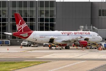 N641VA - Virgin America Airbus A320