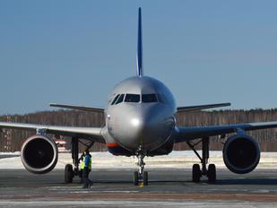 VP-BZQ - Aeroflot Airbus A320