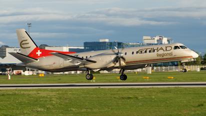 HB-IZW - Etihad Regional - Darwin Airlines SAAB 2000