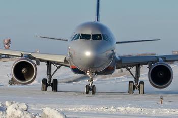 VQ-BEJ - Aeroflot Airbus A320