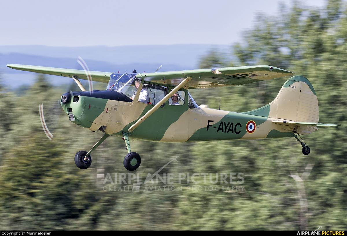Private F-AYAC aircraft at St Hubert