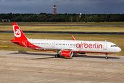 D-ABCR - Air Berlin Airbus A321 aircraft
