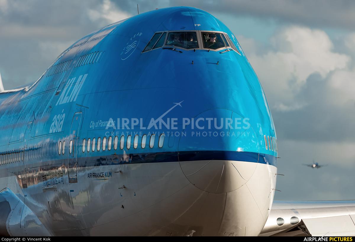 KLM Asia PH-BFP aircraft at Amsterdam - Schiphol