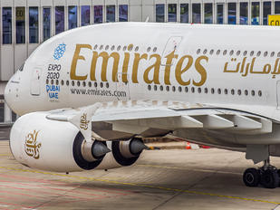 A6-EOA - Emirates Airlines Airbus A380