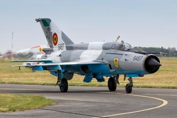 6487 - Romania - Air Force Mikoyan-Gurevich MiG-21 LanceR C