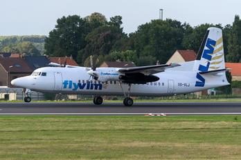 OO-VLJ - VLM Airlines Fokker 50