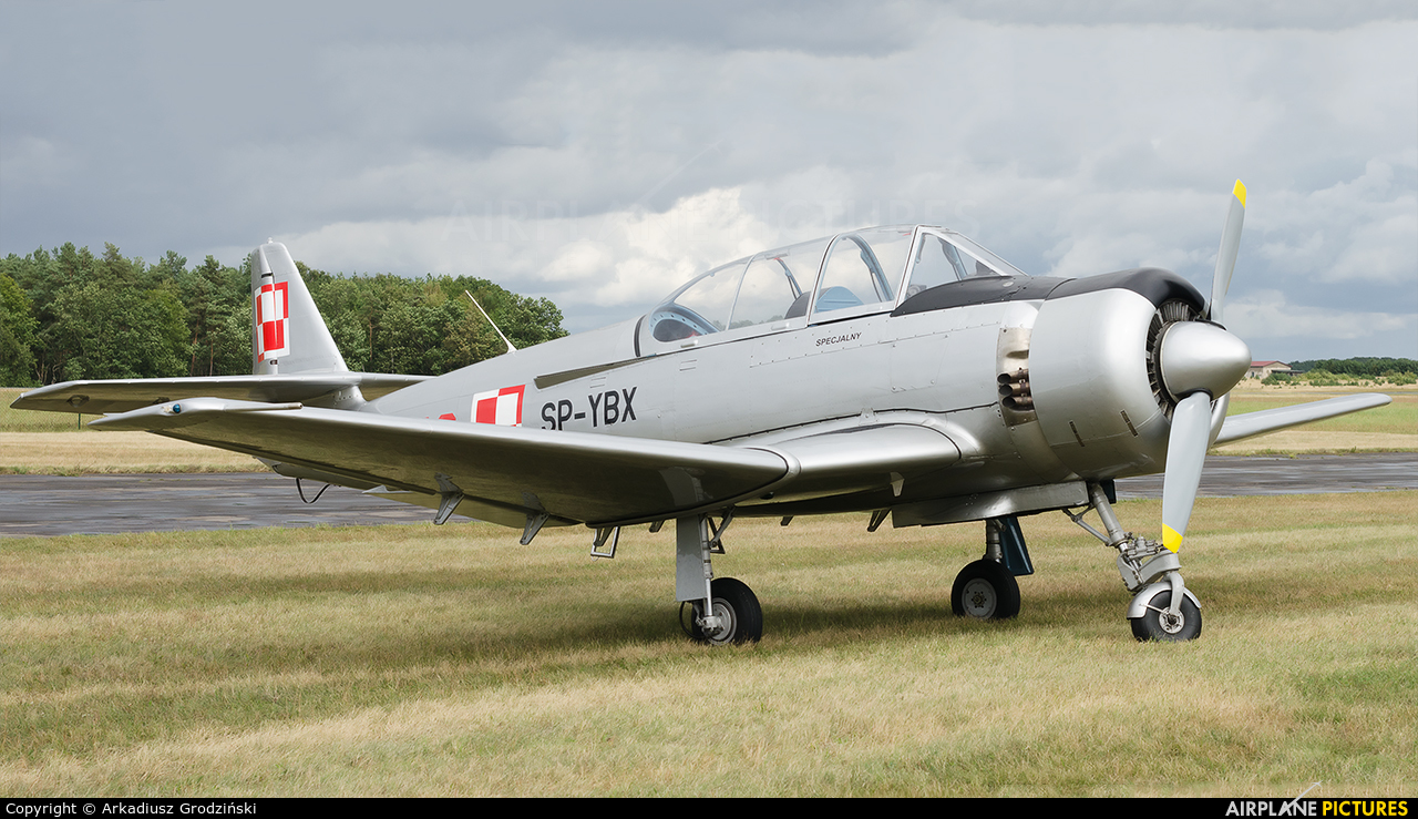 Private SP-YBX aircraft at Heringsdorf