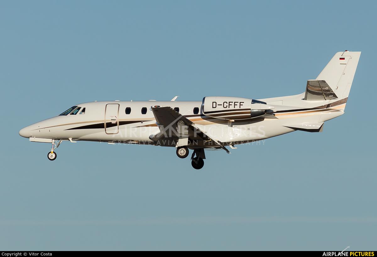 DC Aviation D-CFFF aircraft at Lisbon